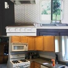 Self-Adhesive Wall Stickers Waterproof Anti-Fouling Wallpaper Tile Diy Decorative