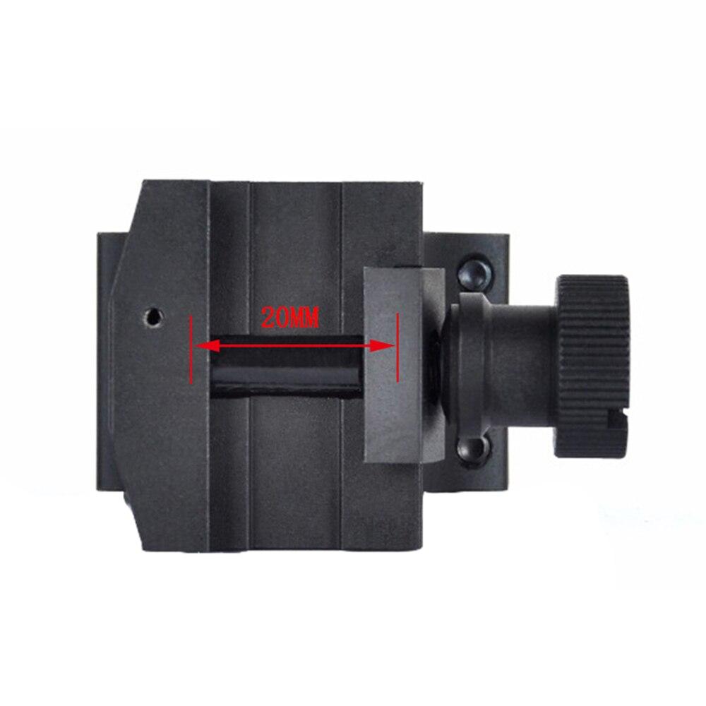 wilcox montagem para m2 m3 picatinny adaptador 05