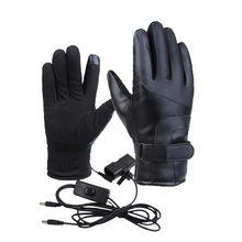 Winter Warm Electric Heated Gloves Bike 48V/60V/72V Touch Screen for Outdoor Motorcycle
