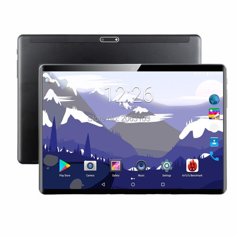 Хит продаж 2020, 10 дюймов, 3G/4G, LTE, планшет с функцией звонка, Android 9,0, четыре ядра, 6 ГБ + 128 Гб, две sim-карты, 10,1, WiFi, планшеты