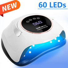 High Power UV Led Lamp For Nail Dryer UV Gel Varnish With 60 LEDs Professional Nail Lamp For Gel Nails Art Salon Manicure Tools