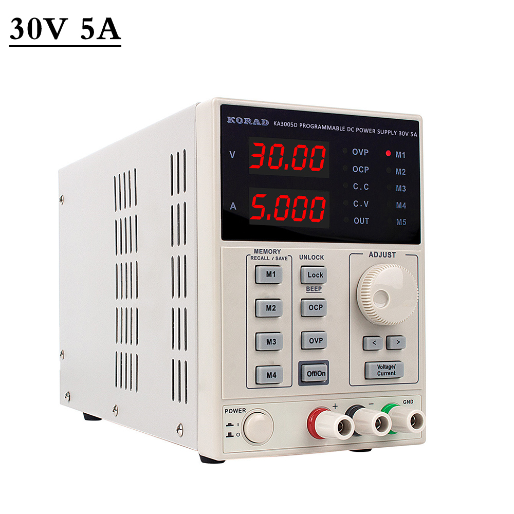 Alimentation de laboratoire réglable Programmable professionnel banc d'alimentation de laboratoire alimentations de tension régulateur de courant 220V KA3005D