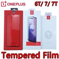 OnePlus-Protector de pantalla de vidrio templado para móvil, Protector de pantalla de vidrio templado 3D Original para teléfono móvil opone plus 9 pro 8T 7T 7 6t
