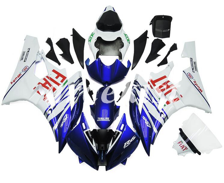 New ABS Injection Mold Motorcycle Full Fairings Kit Fit for YAMAHA YZF-R6 2006 2007 R6 06 07 Custom Blue white