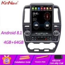 13,6 de pantalla Vertical estilo KiriNavi Tesla Android Radio Android 8,1 navegación GPS para Land Rover freelandr 2 DVD para coche 2007-2015
