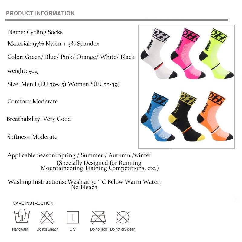 Купить с кэшбэком High quality Professional Brand Cycling Sport Sock Protect Feet Breathable Wicking Cycling socks Bicycles Running Socks