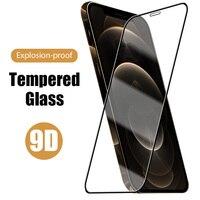 9D completa de la cubierta de Protector de pantalla para iphone 7 plus de vidrio templado para iPhone 6 iphone 6s 6s 7s 7s 8s 8 8s X XS X Max XR SE 2020