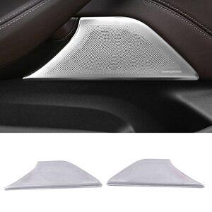Image 1 - Für BMW 5 Series G30 2018 2019 2020 Auto Tür Tor Lautsprecher Sound Lautsprecher Abdeckung Trim Rahmen Aufkleber Innen Zubehör