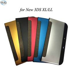 YuXi Aluminum Hard Box Protective Case Housing Shell Top & Bottom Protective Cover for Nintend New 3DS XL / LL Accessories
