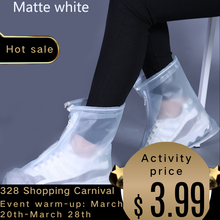 Waterproof Shoe Cover Silicone Material Unisex Shoe Protective Cover For Indoor Outdoor Rain Boots coat Dustproof Can Be Reused