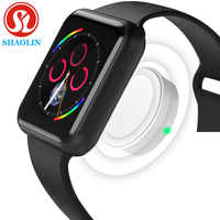 Bluetooth Smart Watch Sports Smartwatch for Apple iOS iPhone 4 5s 6 6s 7 8 X Plus Xiaomi 2 Sony 3 Android Phones (Red Button)