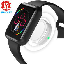 Bluetooth Smart Watch Sports Smartwatch for Apple iOS iPhone 4 5s 6 6s 7 8 X Plus Xiaomi 2 Sony 3 Android Phones (Red Button)(China)