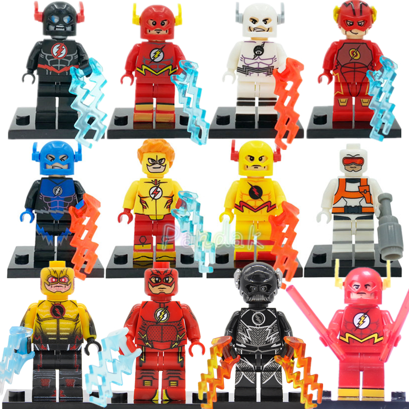 The Flash Figure DC Single Sale Batman Clown Super Hero Building Block Sets Model Bricks Toys For Children SY178 Legoing