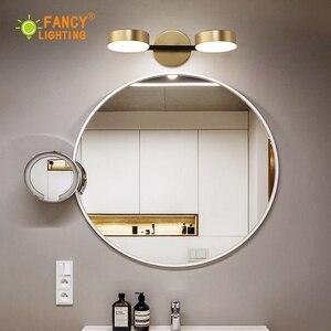 Image 3 - (مصدر ضوء مجاناً) الشمال 1/2 /3 رؤساء وحدة إضاءة led جداريّة مصباح الحمام مصباح ل مرآة الذهبي أضواء لدرجات السلم الحديد الجدار ضوء لغرفة النوم