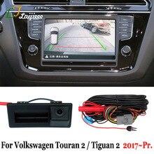 Für Volkswagen Touran 2 II 5T Tiguan 2 II 5N 2017 2018 2019 2020 2021 OEM Bildschirm Plug & spielen Ansicht rück Parkplatz Kamera