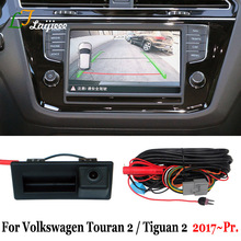 Parking-Camera Tiguan Volkswagen Touran Reverse Rear-View for Screen-Plug 5N Play 5T