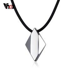 Vnox панк Для мужчин колье Цепочки и ожерелья чистый Вольфрам