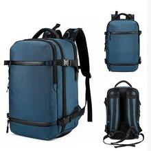 Ozuko 배낭 남성용 15 인치 노트북 배낭 청소년 학교 가방 대용량 수하물 가방 캐주얼 배낭 여행 팩 도시