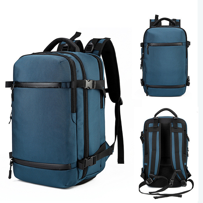 Ozuko mochila para os homens 15 polegada portátil mochila juventude saco de escola grande capacidade sacos de bagagem casual mochila viagem pacote urbano