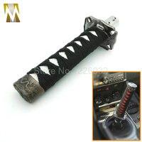 150mm jdm samurai sword 시프트 노브 쉬프터 katana metal weighted sport with adapter