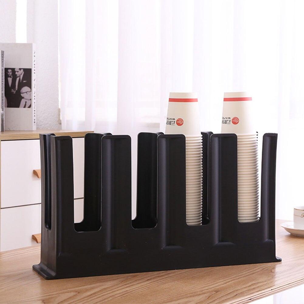 Держатель для бара Кофейни практичные полки для офиса прочный стеллаж для хранения Бесплатная подставка бумажный органайзер для стаканчиков домашний дозатор утолщенный