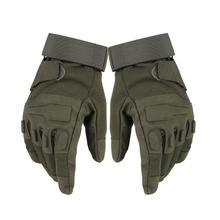 Zimowe rękawice sportowe męskie outdoorowe rękawice wojskowe Full Finger Army Tactical Mittens odporne na zużycie rękawiczki jeździeckie tanie tanio Dla dorosłych CN (pochodzenie) Mikrofibra Stałe Nadgarstek Moda ii9103 Men s Gloves Military Gloves Microfiber Black Sandy Color Armygreen