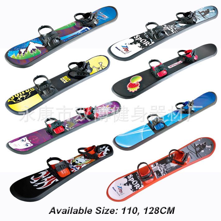 The Manufacturer Provides Customizable Double-bo Single-boarded Skis For Children's Freestyle Children's Skis Freestyle Skis