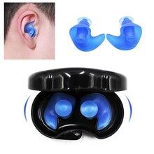 Беруши для ушей, звукоизоляция, защита ушей, экологический силикон, водонепроницаемый, анти-шум, шумоподавление
