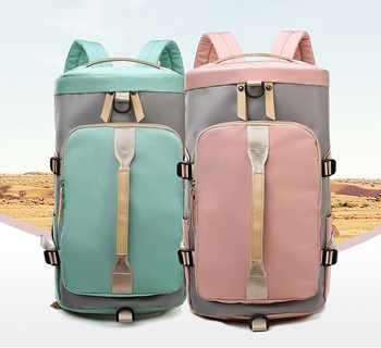 New fitness bag double shoulder cross-body bag couple of large capacity luggage independent shoe bag multifunctional luggage bag - DISCOUNT ITEM  29 OFF Luggage & Bags