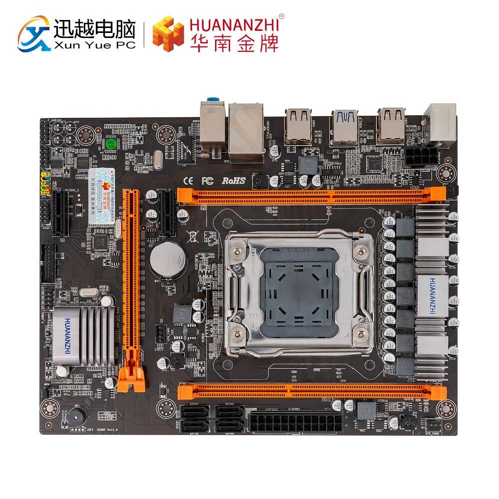 HUANAN ZHI X79-4M Motherboard X79 For Intel LGA 2011 E5 2650V2 2660V2 DDR3 1333/1600/1866MHz 32GB SATA2.0 USB2.0 M-ATX Mainboard