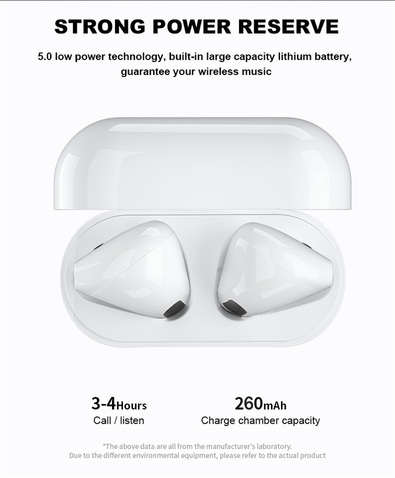 lowest price Pro 4 TWS Bluetooth Earphone Wireless Headphones HiFi Music Earbuds Sports Gaming Headset For Smart Phone With Charging Box