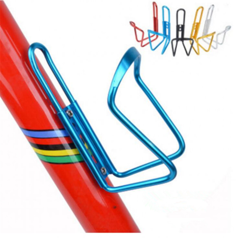 1Pcs Aluminum Alloy <font><b>Bike</b></font> Cycling Bicycle <font><b>Drink</b></font> Water Bottle Rack <font><b>Holder</b></font> Mount for Folding <font><b>Bike</b></font> Cage Mountain <font><b>Bike</b></font> Accessories image