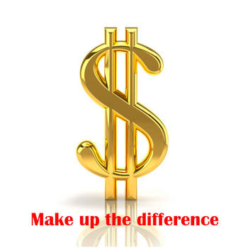 Make up the Difference If You Need to Make up the Difference to Us Please Pay Us Through This Order fiona harper break up to make up