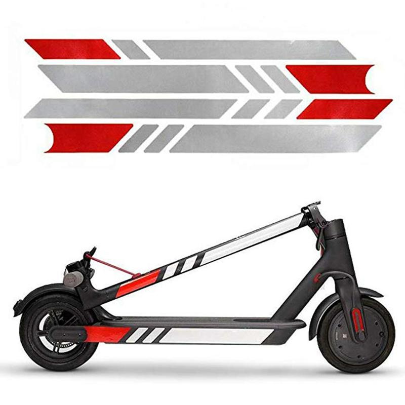 Reflective Styling Stickers For Xiaomi M365 Electric Scooter Skateboard Accessories