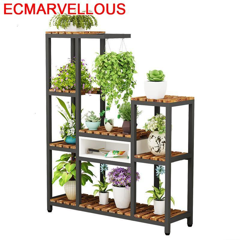 Para Plantas Table Shelf For Suporte Flores Scaffale Porta Piante Stojak Na Kwiaty Dekoration Outdoor Flower Rack Plant Stand