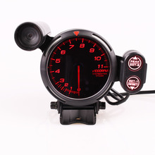 Tacómetro Difi BF 3,75 pulgadas 7 colores 0 11000 RPM con Motor paso a paso y luz de cambio de coche para Indicador de coche