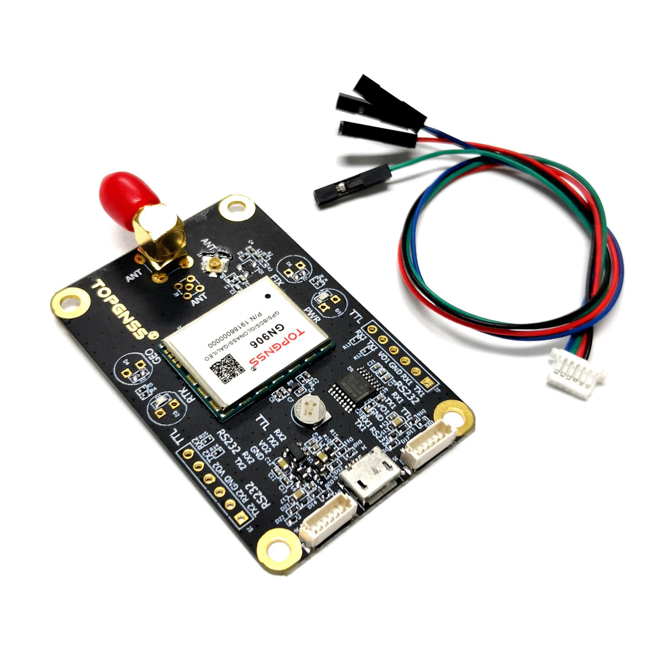 UART Differential Centimeter GPS Module ZED-F9P Module Test Evaluation Board NMEA0183 Supports Chihiro