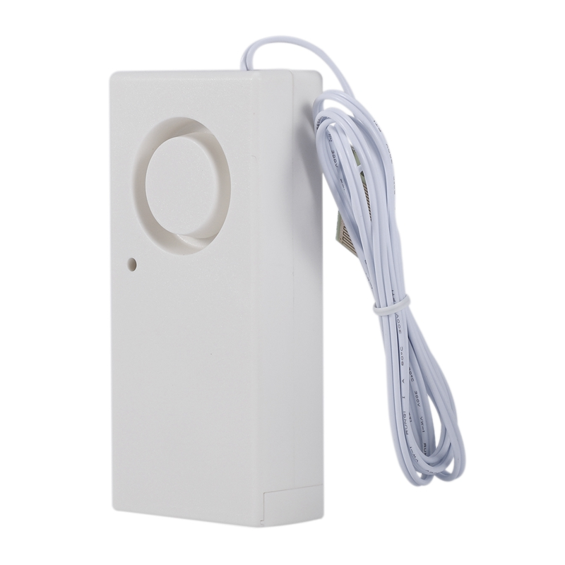 Elegantamazing Detector de desbordamiento de Nivel de inundaci/ón con Alarma de Fuga de Agua y Sensor de Alerta para Seguridad del hogar Blanco