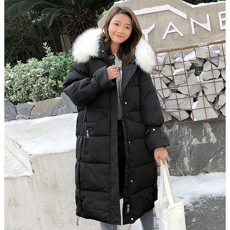 New arrival 2019 women winter long parka cotton padded warm coats fash_B2_13