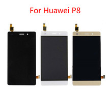 For Huawei P8 Lite Display LCD Touch Screen Digitizer Assembly Replacement ALE-L21 P8LITE L04 Free Tools for huawei honor 8 lite lcd display touch screen digitizer assembly replacement free tools