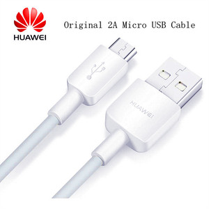 Original Huawei Micro USB Cable 2A Fast Charging Data Line For P7 P8 P9 P10 Lite Y6 Y7 Y9 Nova 3i 2i Honor 8X Max 8C 8I 7X 7C 5X(China)