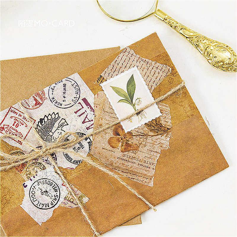 1 Pack Halus Tanaman Atlas Washi Tape Warna Dasar Kertas Washi Tape Pita Perekat DIY Dekoratif Label Stationery Tape