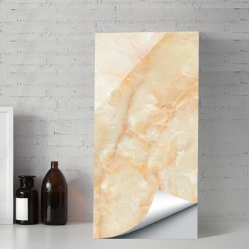 Marmurowy papier ścienny blat kuchenny tapeta marmurowy papier samoprzylepny winyl na licznik do łazienki stół jadalny meble biurowe tanie i dobre opinie NoEnName_Null CN (pochodzenie) Płaska naklejka ścienna Nowoczesne Do zabudowanej kuchenki Do płytek Na ścianę Naklejki na meble