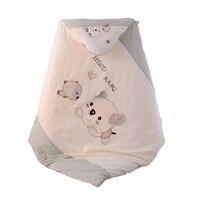 Infant Soft Swaddle Baby Sleeping Bag Newborn Cotton Quilt Boys and Girls Cartoon Blanket Kids Bedspreads Children Sleeping Bag|Quilts| |  -