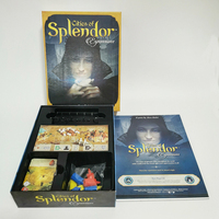 chess board game party chess board game English version of splendor jewel merchant
