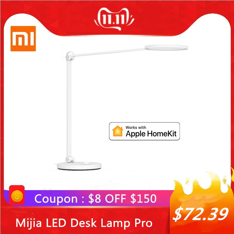Xiaomi Mijia Portable Eye-protection LED Desk Lamp Pro Bluetooth WiFi Mijia APP Voice Remote Control Work With Apple HomeKit