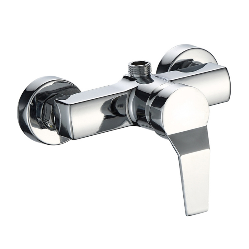 Bathtub Hot and Cold Mixing Water Faucet Sink Spray Double Shower Head Deck Taps