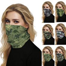 Ochrona UV Camo szalik chustka na zewnątrz szalik Sport mężczyźni magiczny szalik nakrycia głowy rower narciarski wędkarstwo maska kolarstwo szalik 04 tanie tanio high permeability microfiber support 20200429