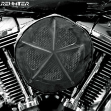 Black Waterproof Rain Sock For Harley Touring Sportster 883 1200 Softail DynaRoad King Electra Glide For Air Filter Cleaners Kit пазлы educa пазл фрида кало 500 деталей