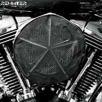 Schwarz Wasserdicht Regen Socke Für Harley Touring Sportster 883 1200 Softail DynaRoad König Electra Glide Für Luftfilter Reiniger Kit